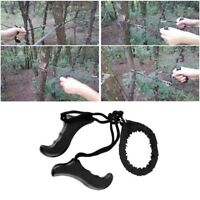 Survival Chain Camping Saw ChainSaw Emergency Garden Pocket Gear Hand Tool WL