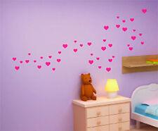 Décorations murales et stickers amovibles rouge pour la maison