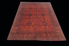 Fine 5'x7' Khal Mohammadi Turkoman Rug Traditional Organic Wool Handmade Carpet