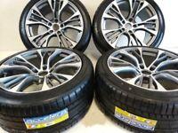 21 pouce roues ensemble + pneus d'été pour BMW X5 E53 E70 F15 X6 E71 F16 599 sty