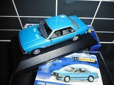 Vanguards Corgi VA12413 Ford Granada MK2 Series1 2.8i Ghia Cosmos Blue