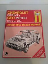 Haynes Chevrolet Sprint & Geo Metro 1985 thru 1994 Automotive Repair Manual