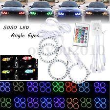 4x RGB ANGEL EYES 70MM 5050 96 LED Standlicht Scheinwerfer Fernbedienung für BMW