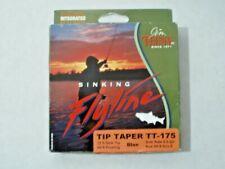 Teeny Tip Taper Tt-175 Fly Line 22 ft Sink Tip Rods 6-8 Sink Rate 5.0 Ips