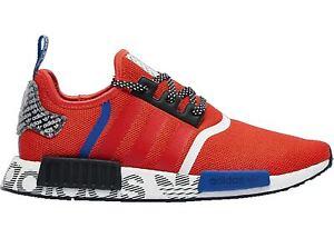 "Men's Adidas NMD_R1 ""Active Red Black"" Fashion FV5214"