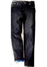 NEU Herren wärmende Termo Jeans Hose anthrazit grau gefüttert 5 Pocket Übergr 62