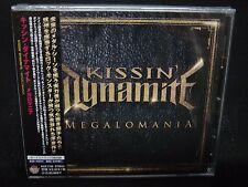 KISSIN' DYNAMITE Megalomania + 2 JAPAN CD Blues Kids Crazy Lixx Guns 'N' Roses