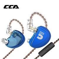 CCA A10 5BA In Ear Earphone Drive Units HiFi Monitoring Sports Headset 3.5mm