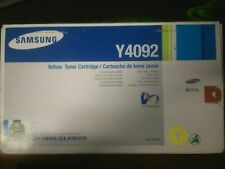 Samsung Y4092 Yellow Toner - Sealed Never Opened - CLT-Y4092S