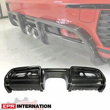 JCW Style Carbon Fiber For Mini F56 Rear Bumper Diffuser Lip (Replacement kit)