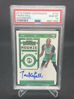 2019 Panini Contenders Rookie Ticket Tacko Fall Auto PSA 10 Pop 7