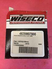 Wiseco Honda CRF250R CRF250 CRF 250 250R Piston Kit 78mm std. Bore 04-07