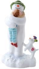 "New boxed John Beswick ""The Snowman Hugging Billy"" figure ornament JBS12 Snowdog"