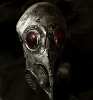 Steampunk leather gas mask - Halloween costume comiccon, plague doctor horror