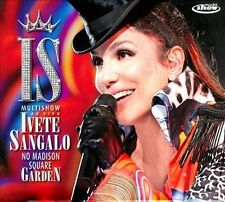 Sangalo, Ivete : Multishow Ao Vivo: No Madison Square Gar CD