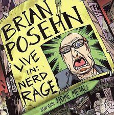 Audio CD Live In: Nerd Rage - Posehn, Brian - Free Shipping