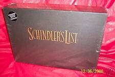Schindler's List (1994, VHS) LIMITED EDITION BOX SET