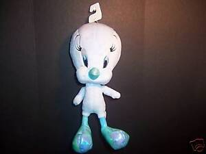 "Plush Blue Tweety Bird Warner Bros.10"" Looney Tunes Toy"