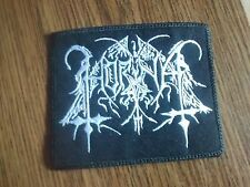 HORNA,SEW ON WHITE EMBROIDERED PATCH