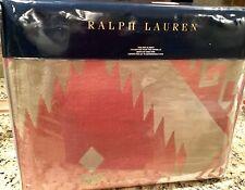 RALPH LAUREN  AMAGANSETT SOUTHVIEW SOUTHWEST KING BLANKET ~ NIP 1ST