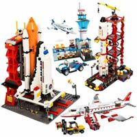 City Space Shuttle Launch Center Building Block Educational Bricks Kids Gift Toy