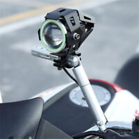 Metal Scooter Handlebar Post Extension Bracket Stand LED Light Style Accessories