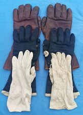 More details for ww2 raf d-type flying gloves - complete set.