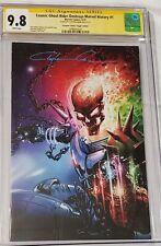 cosmic ghost rider destroys marvel #1 virgin Crain Cgc 9.8 ss & trade dress set