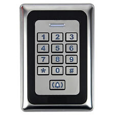 Waterproof Access Control Metal Case Standalone Keypad For 125KHZ ID Card Hot ES