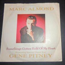 Marc Almond  feat. Gene Pitney Something's gotten hold of my heart vinyl single