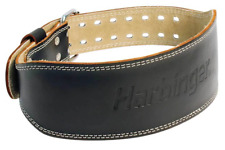 "Harbinger 4"" Leather Weight Lifting Belt"