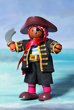 Budkins BK994 Pirate Raphael by Le Toy Van Flexible doll - Pirates Range