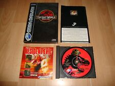 THE LOST WORLD JURASSIC PARK PARA LA SEGA SATURN USADO COMPLETO