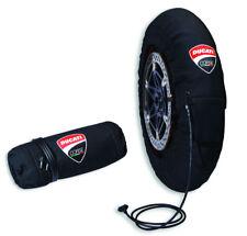 DUCATI Corse Reifen Thermohüllen ReifenWärmer Tyre Warmer Set PANIGALE V4 NEU