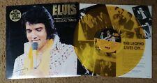 Elvis Presley - PROMO A Canadian Tribute LP - Gold Vinyl - KKL1-7065 - VG+record