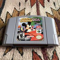 Nintendo 64 N64 Mickey's Speedway USA Video Game