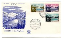 1961 ANDORRA (French) Lake Engolasters design FDC