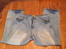Miskeen Men Denim Blue Jeans Light Wash Size 44/32