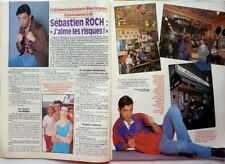 *SEBASTIEN ROCH =>  COUPURE DE PRESSE 2 PAGES 1992 / CLIPPING