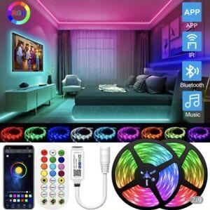 20M LED Strip Lights 3528 RGB Colour Remote Flexible Room Party Bar TV Tape Lamp