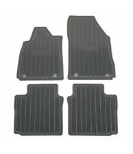 2014-2018 Chevrolet Impala Front & Rear All Weather Floor Mats 23238785 Titanium