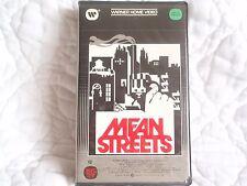 MEAN STREETS VHS ROBERT DE NIRO HARVEY KEITEL MARTIN SCORCESE CLAMSHELL MAFIA NY