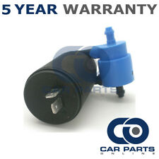 Windscreen Washer Pump Front & Rear Twin Outlet For Alfa Romeo Audi Daewoo Fiat