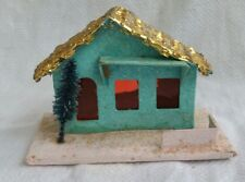 Vintage Christmas House Retro Collectable Village House