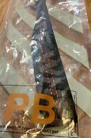 New Off White Industrial Keychain Ribbon Key Buckle Lanyard Sneaker Black