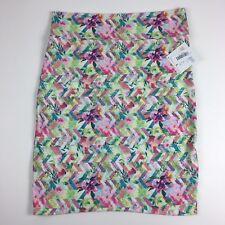 2d584f76b8c Lularoe Womens Skirt Plus Size XXL Cassie Pencil Floral Print Colorful