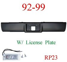 RP23 92 99 Suburban Roll Pan Rear, With License Plate Light, Chevy GMC