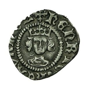 Henry vi Hammered Silver Halfpenny  Rosette Mascle Issue  S1870