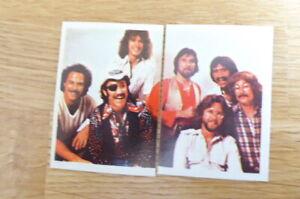 2 DR HOOK POP FESTIVAL STICKERS (BELGIUM) #128 & 129 1980