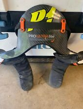 HANS Pro Ultra Lite Model 20 Degree Size Medium Head Neck Restraint Safety Dev